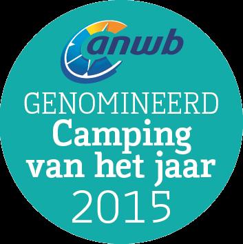 camping van het jaar 2015 genomineerd